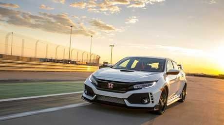 2017 Honda Civic Type R (overseas model).