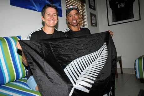 Kim and Dessie Gourlay have helped facilitate the New Zealand rugby sevens teams to train and stay at Coolum.