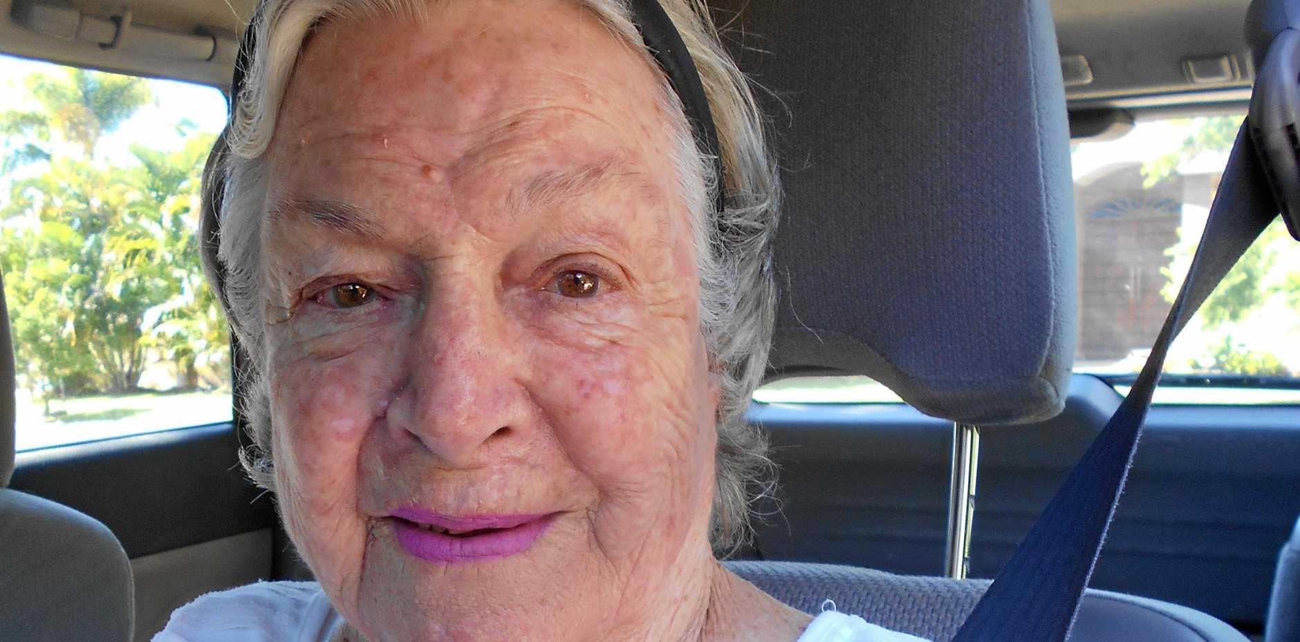 Fay Beutel is 82 years young and has been a volunteer with Coolum Meals on Wheels for over 19 years.