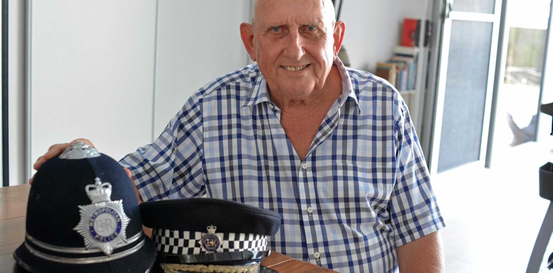 CHANGE OF PACE: After spending most of his life in London working for the Metropolitan Police Force, Alan Fry decided he would call the Lockyer Valley home.