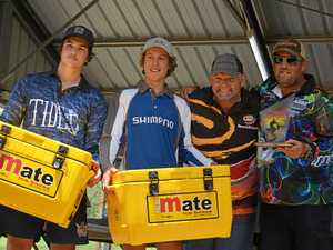 Anglers win big at open