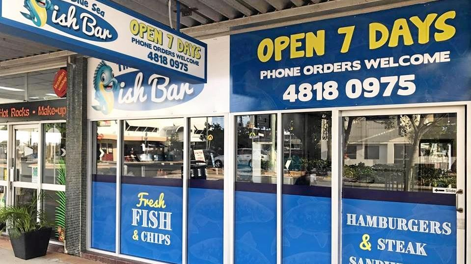 The new fish a chip shop on Victoria St.
