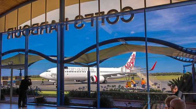 ON TIME: Virgin Australia was the most punctual airline flying between Coffs Harbour and Sydney last year according to the latest Bureau of Infrastructure, Transport and Regional Economics report.