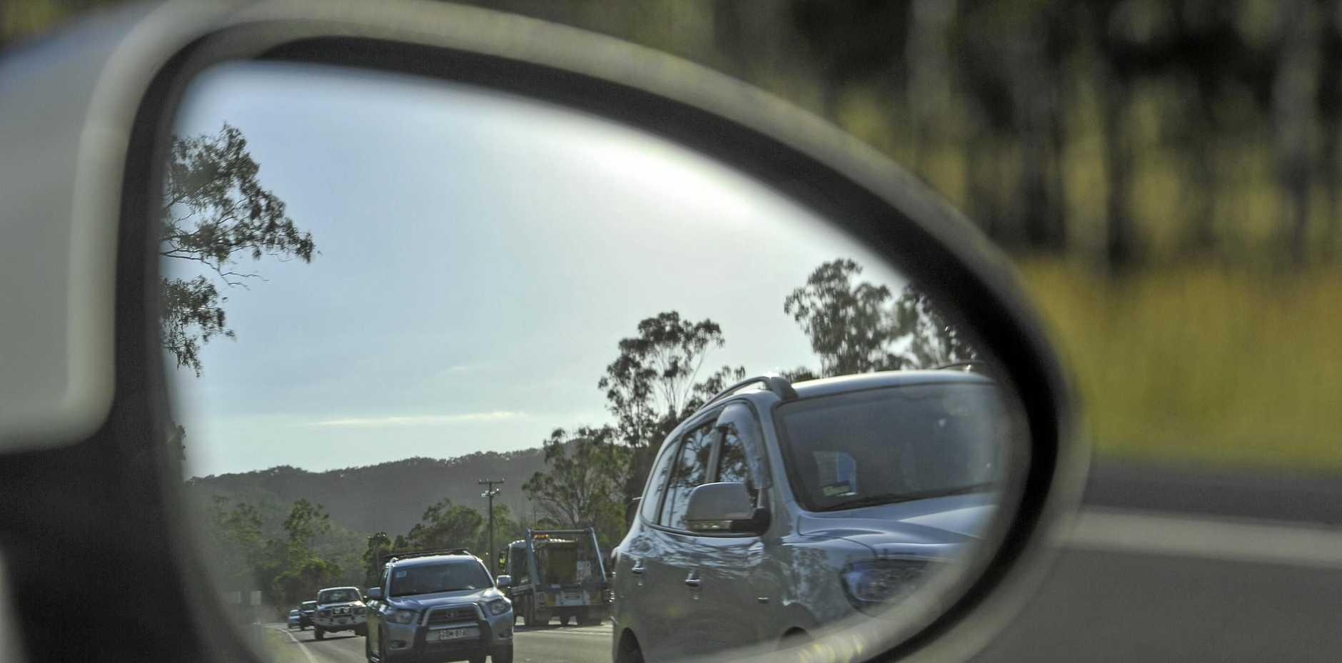 FILE PHOTO: Traffic on road.