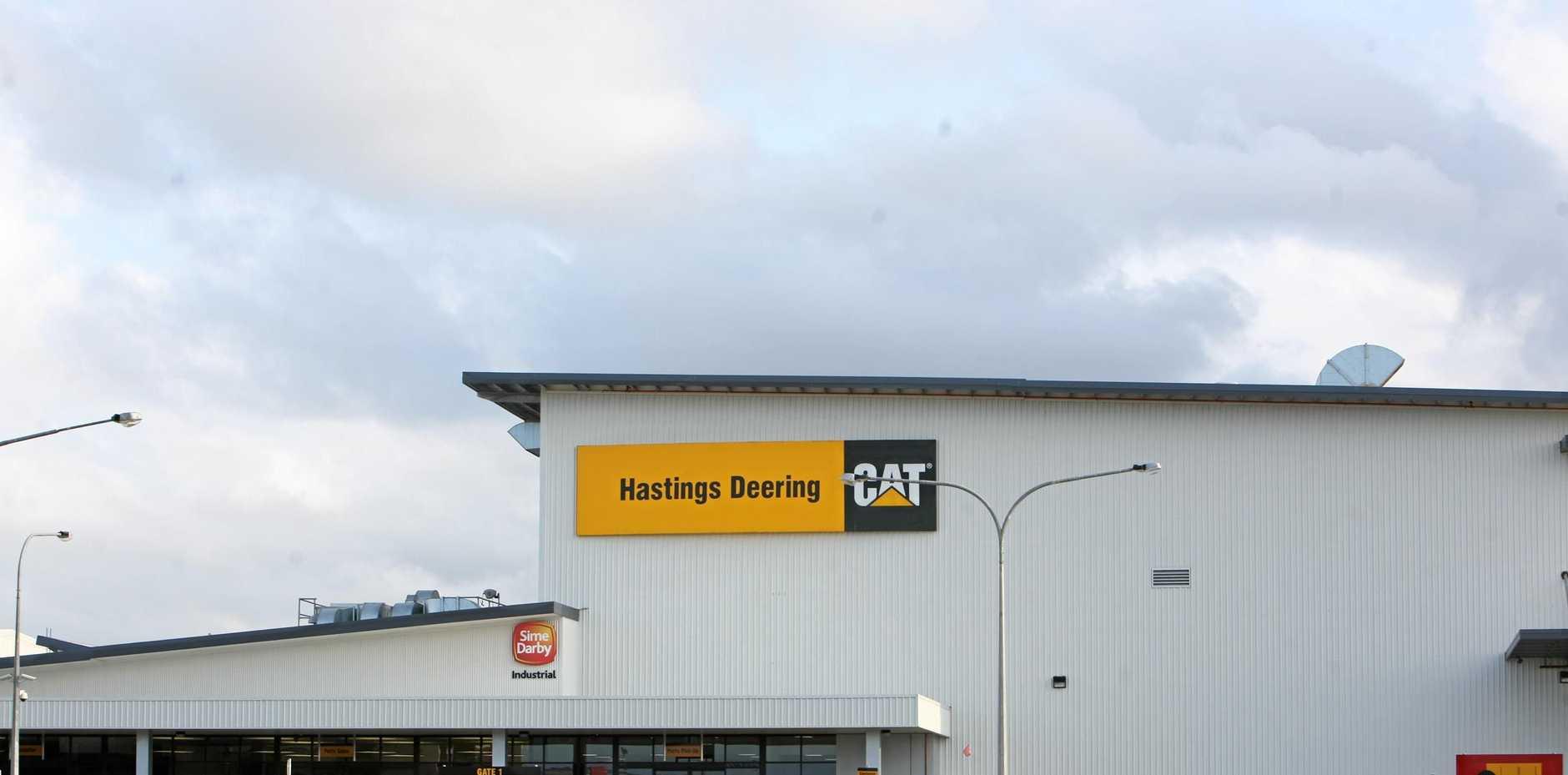 Hastings Deering in Mackay.