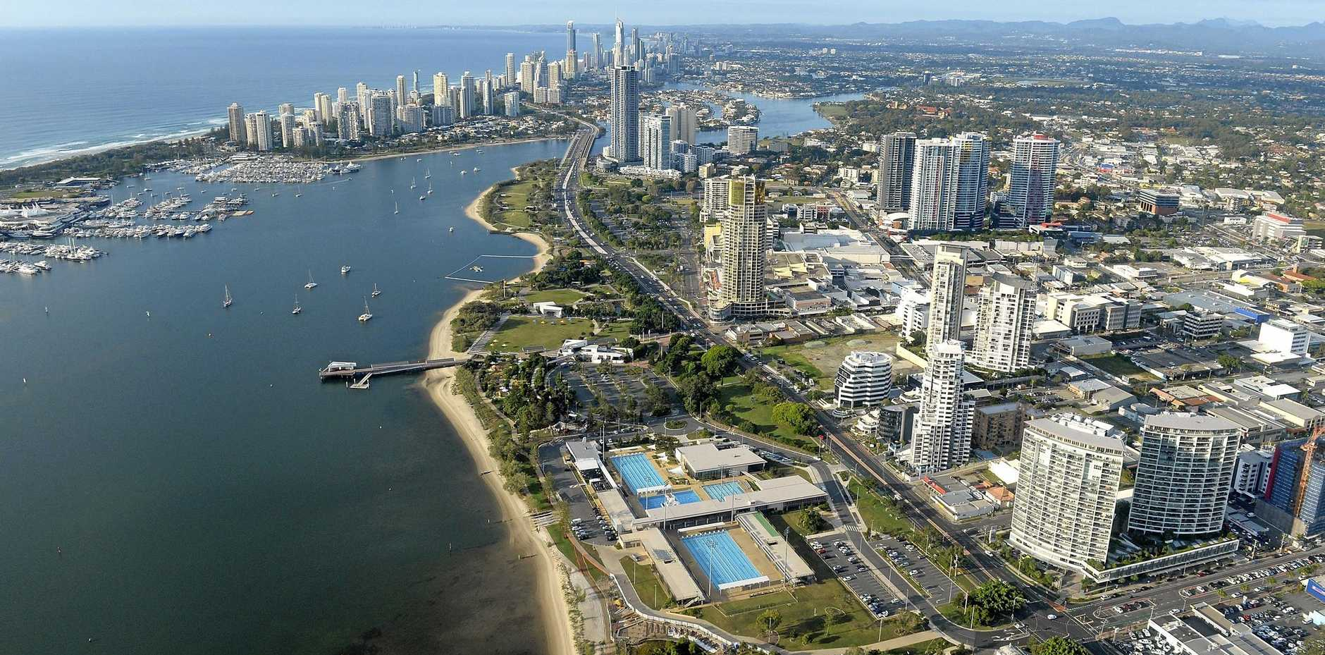 The Gold Coast will host the 2018 Commonwealth Games in April, and traffic on the Pacific Highway is predicted to be congested.