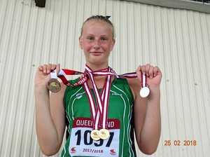Ipswich medal rush at Qld titles