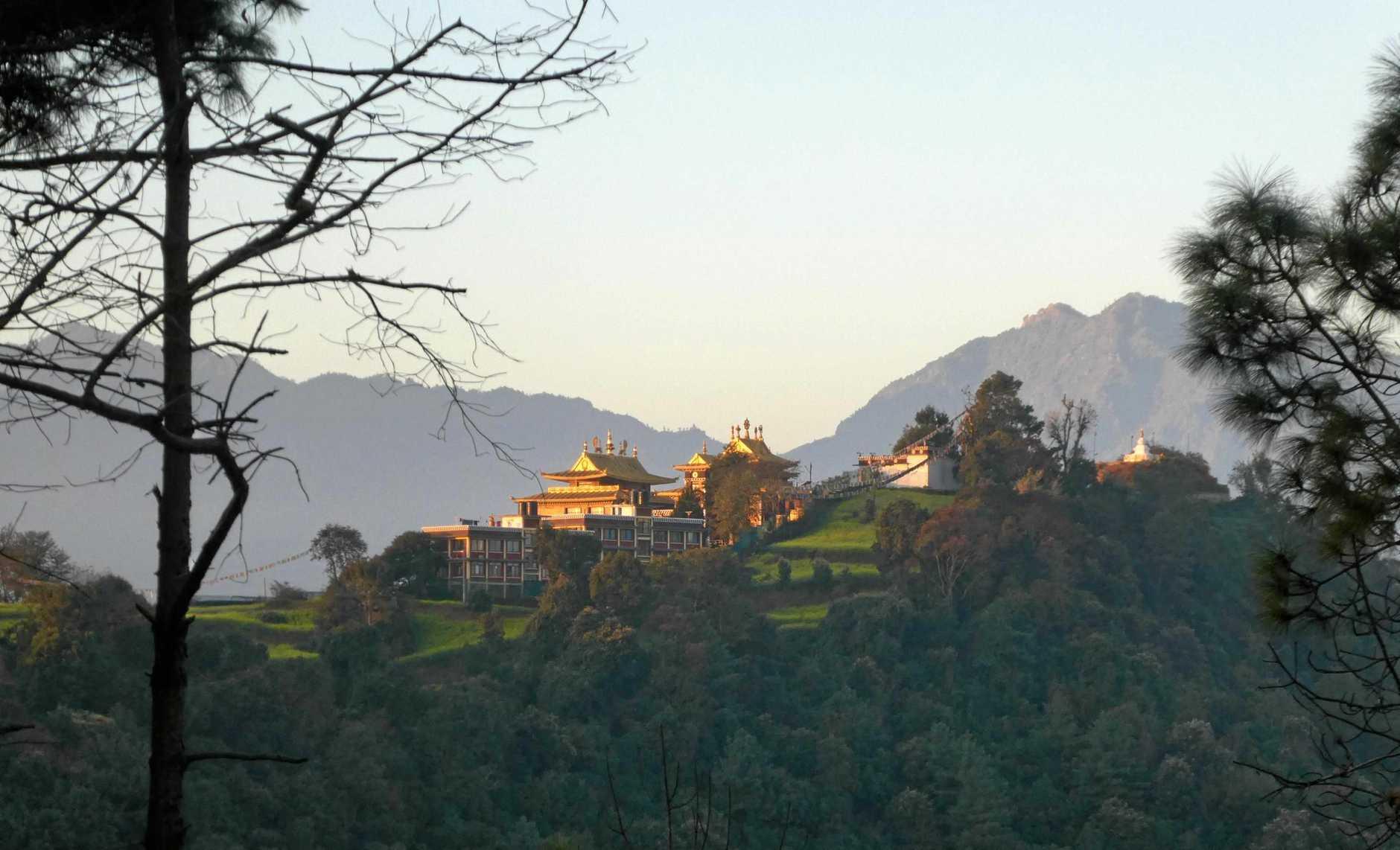Buddhist monestry Namo Buddha which is two hours drive from Kathmandu