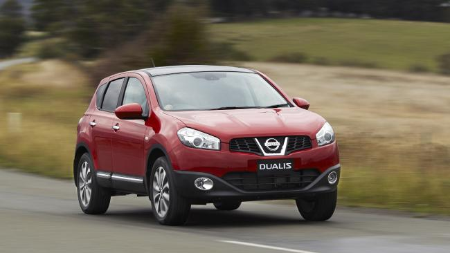 The 2010 Nissan Dualis Ti AWD off-roader. Pic Supplied