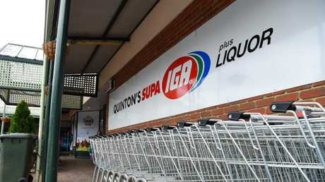 IGA was the bottom of the table when it came to supermarkets' healthy eating commitments. Picture: Josie Hayden