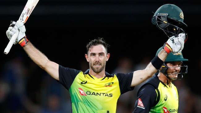 Glenn Maxwell sits No.1 on the all-rounder rankings and No.2 for batsmen.