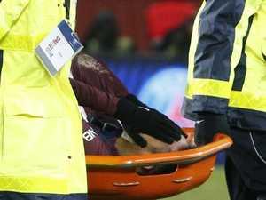 PSG, Brazil hold breath as Neymar stretchered off