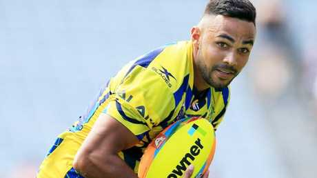 Bevan French gives the Eels plenty of top line speed.