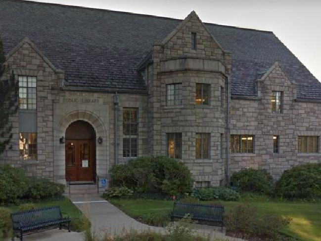 Winchester Public Library where the stabbing occurred. Picture: Google Maps