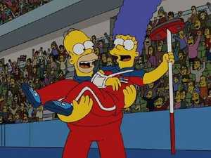 Simpsons' scary Olympic prophecy