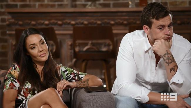 Davina and Ryan finally split on Married at First Sight last night.