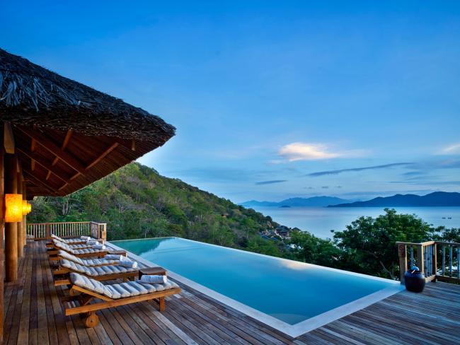 Hilltop Reserve exterior, Six Senses Ninh Van Bay. Picture: Kiattipong Panchee.