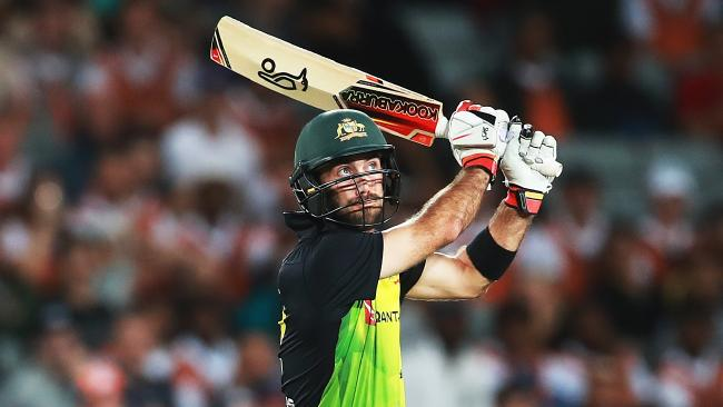 Glenn Maxwell is two points short of top spot on the all-rounder rankings.