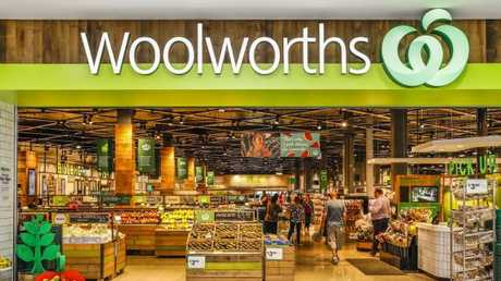 Woolworths came top of the table for its nutrition and obesity prevention plans. Picture: Dallas Kilponen/PPR