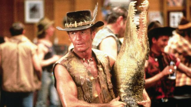 Scenes from Crocodile Dundee 2