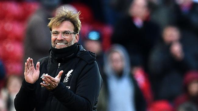Liverpool's German manager Jurgen Klopp