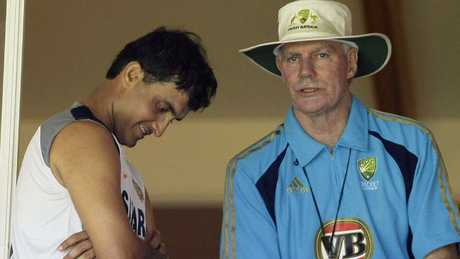 Sourav Ganguly lost captaincy four months after Greg Chappell became India coach.