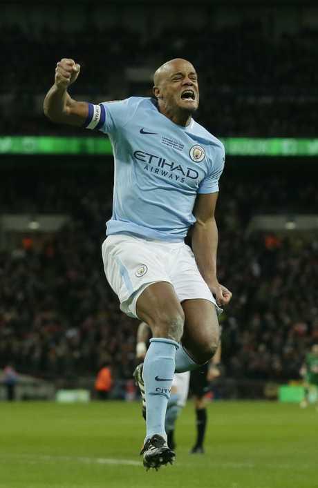 Manchester City's Vincent Kompany