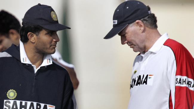 Sourav Ganguly and Greg Chappell fell out shortly after the latter's appointment as India coach.