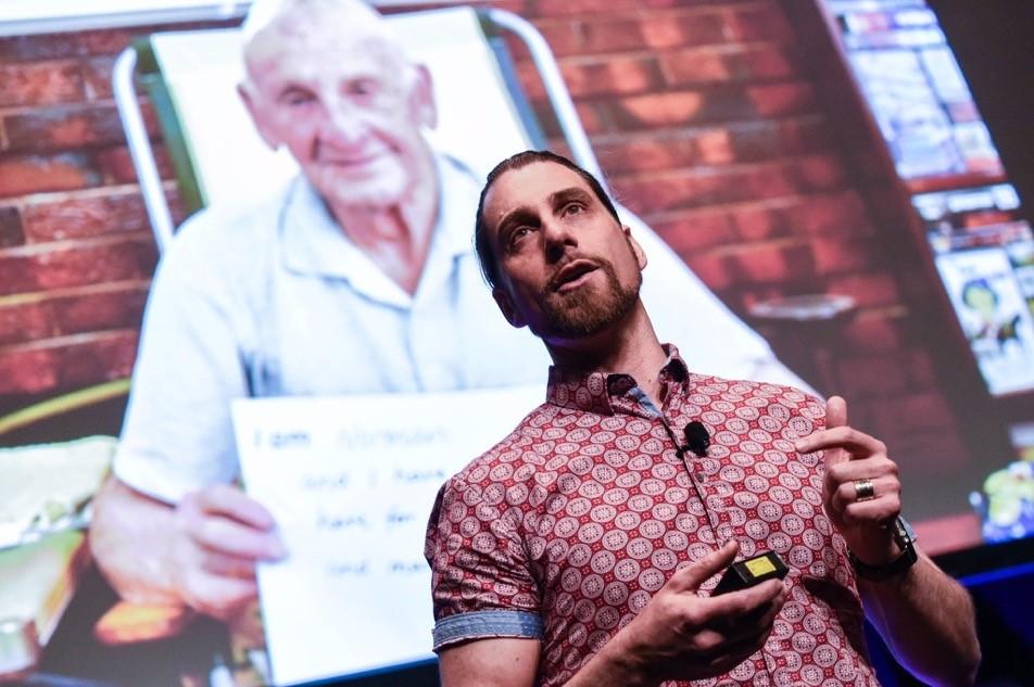 SMART IDEA: Matiu Bush devised the social networking website One Good Street.