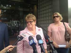 Mother of Michaela Perrin speaks outside court