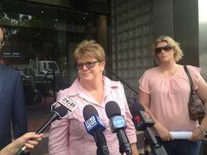 Mother of Michaela Perrin speaks outside court