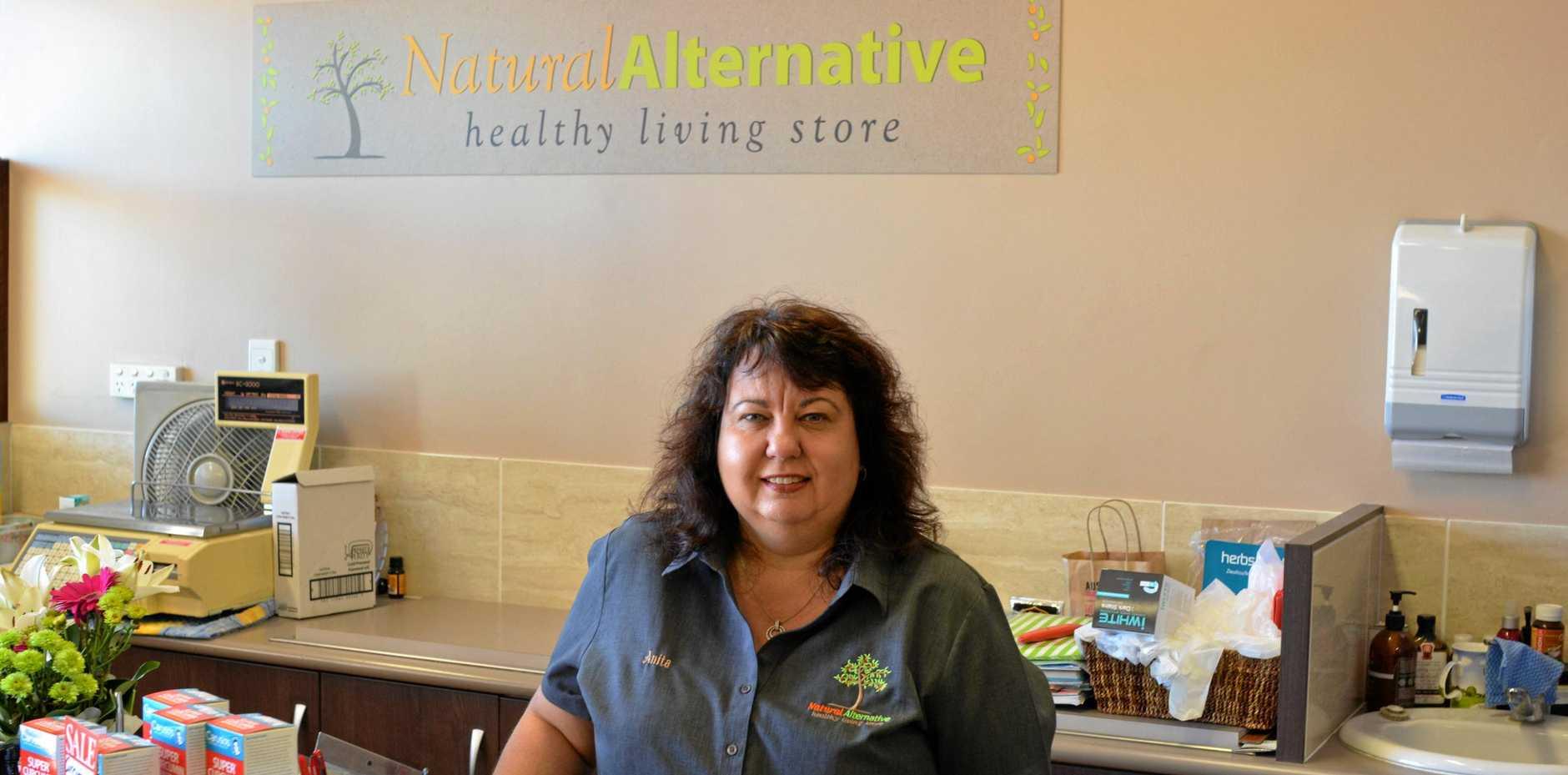 CONGRATULATIONS: Anita Lyne celebrates 10 years of business in Gatton.