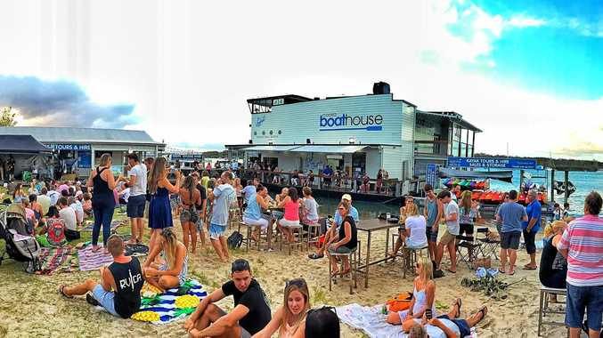 CHILL OUT: The Noosa Boathouse restaurant will hold its River Festival on Sunday.