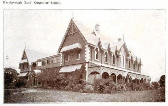Maryborough Boys Grammar 1934.