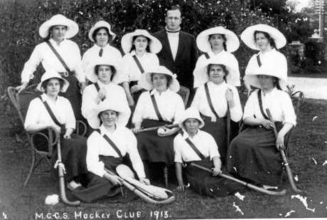 Maryborough Girls Grammar School Hockey Club, 1913.