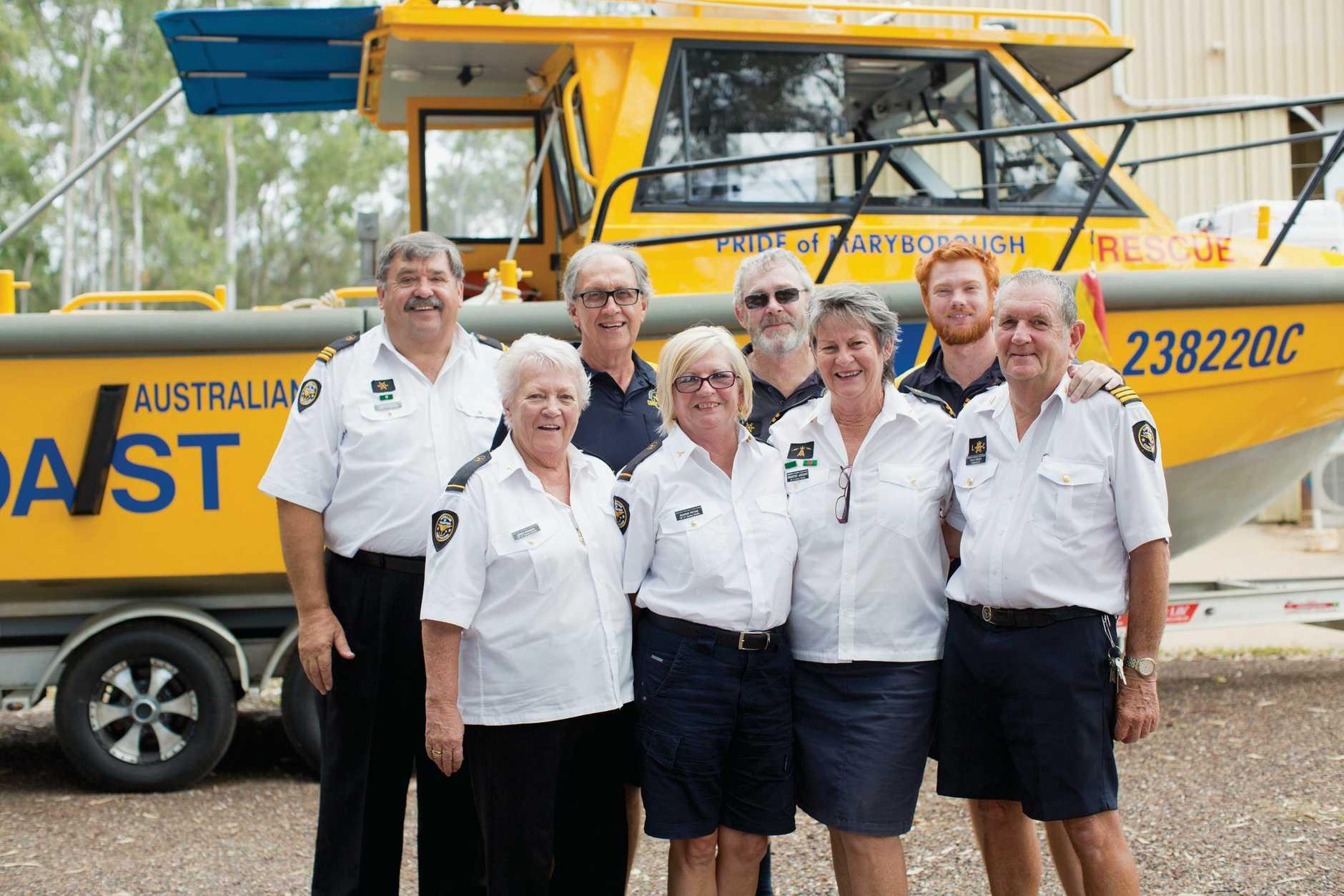 GUARDIANS: Back: John Scragg, Stuart Pryor, Murray Longland, Jesse Campbell. Front:Linda Scragg, Dianne Pryor, Chris Ashcroft, Dale Green,