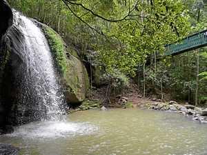 Coast waterfalls showing off their splendour