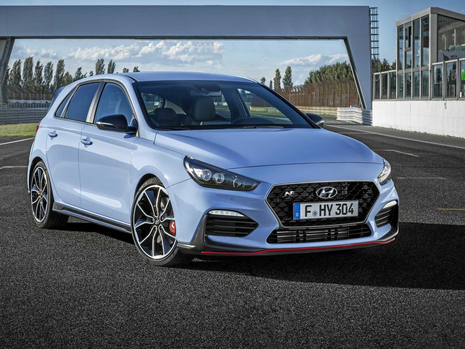 The new Hyundai i30 N will belt out 202kW and 353Nm.