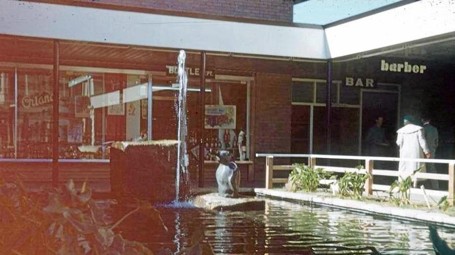 Lennons Hotel Shillam penguin statue.