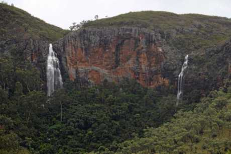 Marion Donaldson shares photos of the Minerva Hills National Park during a rain event in Springsure on Monday.