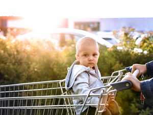What it's really like to shop with a baby in tow