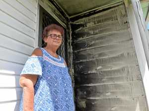 Family on edge after suspicious fire