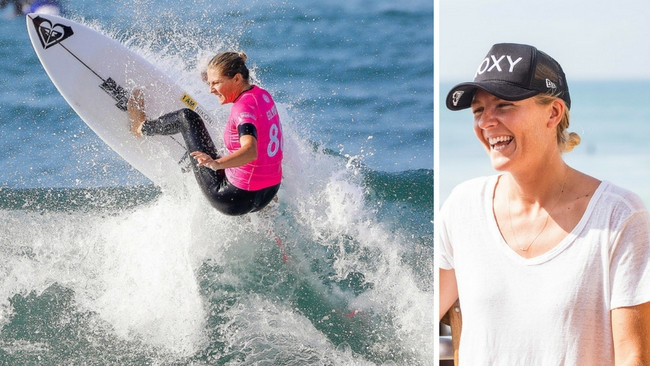 Multiple world champ Stephanie Gilmore will lead the Australian team at Surf Ranch.