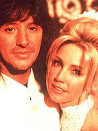 Heather Locklear with ex-husband Richie Sambora. Picture: Supplied
