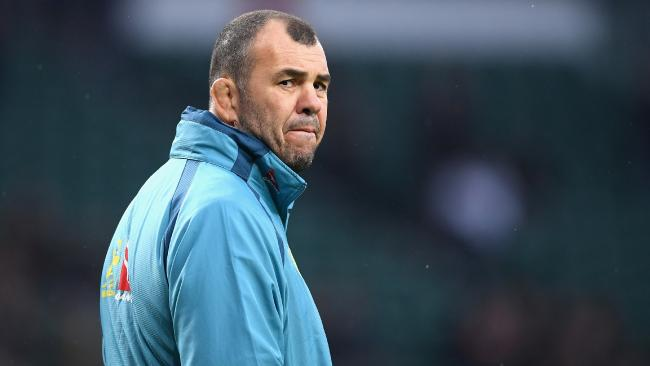 Michael Cheika will walk from the Wallabies if they can't improve on their 2015 result.