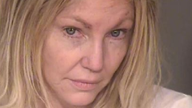 Heather Locklear has been arrested on a charge of domestic abuse. Picture: Ventura County Sheriff's Office