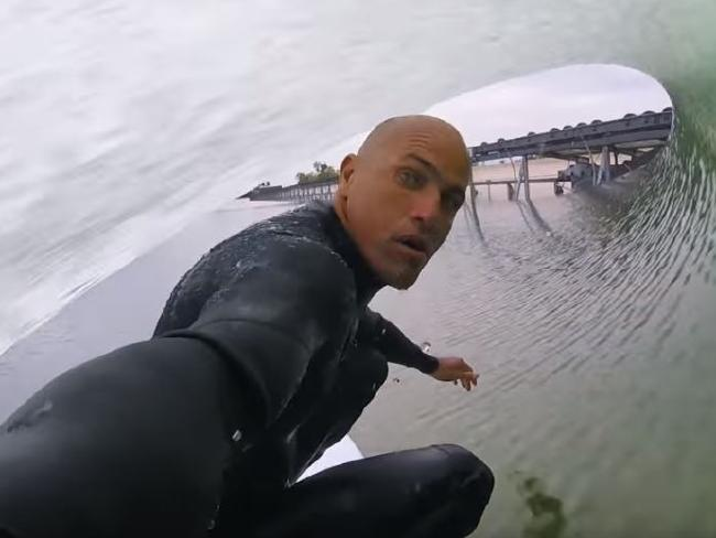 Kelly Slater will lead the American crew.