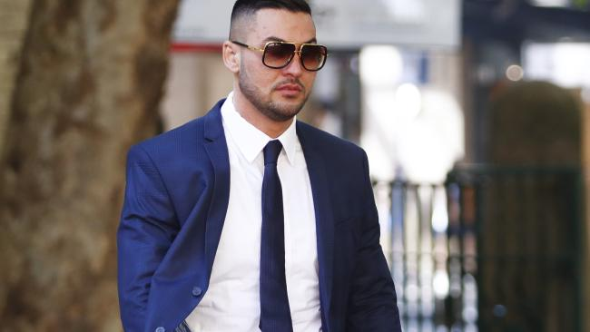 Salim Mehajer pleaded guilty to assaulting a taxi driver. Picture: AAP Image/Daniel Munoz