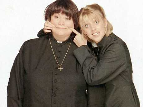 "Dawn French described her late co-star as ""the most loyal and loving friend anyone could wish for"". Picture: Supplied"
