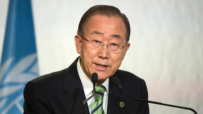 Former United Nations Secretary-General Ban Ki-moon was unable to stamp out abuse within the UN during his time as leader. (Pic: Fadel Senna)